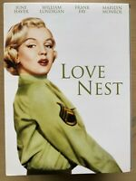 The Love Nest DVD 1951 Romantic Comedy Marilyn Monroe Collection