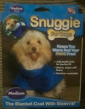 New Snuggie For Dogs Blue Medium