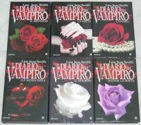 IL DIARIO DEL VAMPIRO Primi 6 libri della Saga di Lisa Jane Smith ed. Newton Com