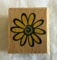 StampCraft Wood Mount Rubber Stamp - 440D99 Flower Daisy
