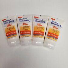 NEUTROGENA Blackhead Eliminating Daily Scrub Exfoliating 4.2 oz (4 Pack)