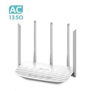 TP-Link Archer C60 AC1350 Dualband Gigabit WLAN-Router 2.4 & 5 GHz, 4x LAN, WAN