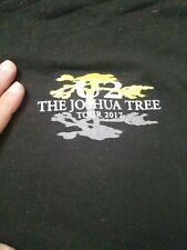 U2 Joshua Tree 2017 Local Crew Shirt Xl Trucks Loaders