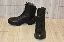 "Bates Footwear 8"" Tactical Sport Side Zip Boots, Men's Size 10.5 M, Black"