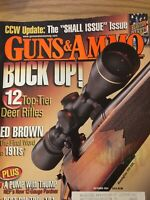 Guns & Ammo Sept 2004, Ed Brown 1911s, Top Tier Deer Rifles.
