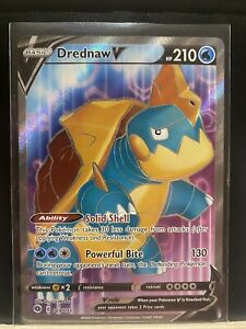 Pokemon TCG Card Drednaw V Full Art Champions Path Ultra Rare 69/73 NM-Mint