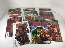 Red Hulk 15 Book Comic Book Lot VARIANTS RED SHE HULK COMPOUND 2008 NM