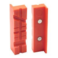 2 pezzi Set protezioni magnetiche per ganasce per morsa