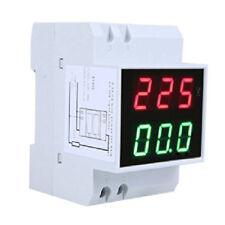 Din-Rail Digitale Amperometro di tensione a LED Misuratore di corrente AC80 M2F3