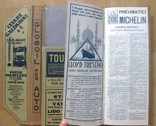 alte Autokarte Italien 1926 Reklame, Werbung Top