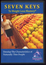 7 keys weight loss mastery  DEVELOP CHARACTERISTICS OF NATURALLY THIN PEOPLE CD