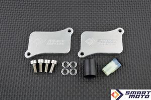 PAIR Valve Removal kit with Block Off plates Honda VTX 1800 2002-2008
