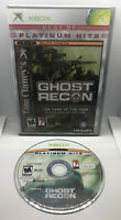 Ghost Recon - 1 - Best of PH - Case & Disc - Tested & Works - Original Xbox