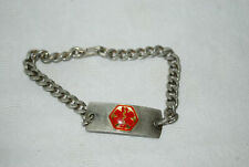 HEART PATIENT  Medical Alert ID Bracelet - Built in USA -