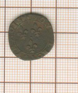 Double tournois Y Bourges Henri III  non daté
