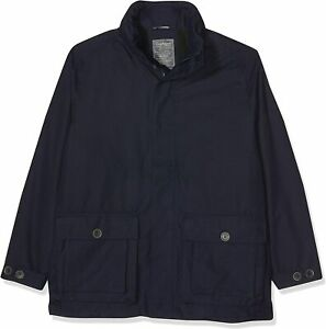 Craghoppers Men jacket with roll-up hood, Feargan, Blue, S