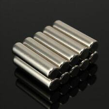 10X Cylinder Strong Round Neodymium Rare NdFeB Earth Fridge Magnets N42 5x20 mm