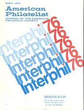 American Philatelist Magazine May 1976 EX No ML 012617jhe