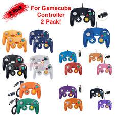 Paquete De 2 con Cable NGC Controlador Gamepad Para Nintendo GameCube & Wii U Consola GC EE. UU.