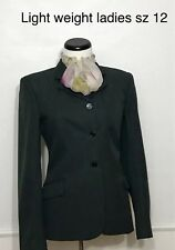 Perfect Horse Show Jacket Devon-Aire Concour Elite Ladies 12 Charcoal Gray Used