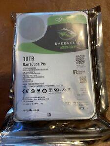 Seagate BarraCuda Pro 10TB 7200RPM 3.5'' SATA 6Gb/s HDD ST10000DM0004 New
