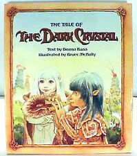 1982 Tale of the DARK CRYSTAL Illustrated Hardcover Book- UNREAD- FREE S&H