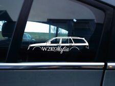 W210 MAFIA sticker aufkleber - for Mercedes w210 E-klasse e320 e430 e55 KOMBI