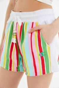 Champion Susan Alexandra Striped Shorts