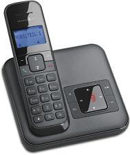 T-SINUS CA34 Schwarz Schnurlos Dect Telefon mit Anrufbeantworter Schnurloses