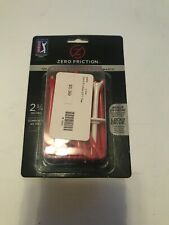 Zero Friction Golf Tees 2.75 Inch Plastic Red Pack Of 40