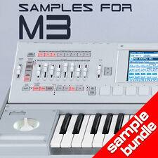 SAMPLES for KORG M3 16GB BUNDLE  - High Quality Sounds Ready to Load