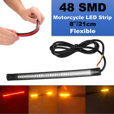 LED Strips Tail Brake Light For Harley Sportster Softail Dyna Touring Chopper