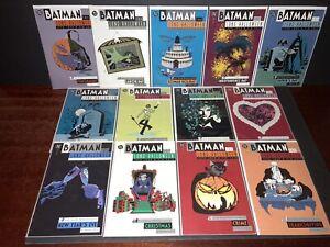 BATMAN THE LONG HALLOWEEN #1-13 COMPLETE SET (1997) DC COMICS! NM CONDITION!