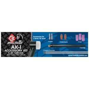 CK Worldwide 2 Series TIG Torch Accessory Kit (AK-1)