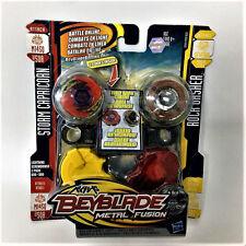 Hasbro Beyblade METAL FUSION STORM CAPRICORN BB50A VS ROCK GASHER B107 Battle
