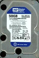 WD5000AAKS-00A7B0 DCM: HANNHV2MAB, WESTERN DIGITAL SATA 500GB