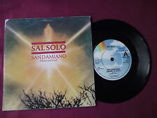 "Sal Solo - San Damiano (Heart and Soul). 7"" vinyl single (7v2461)"