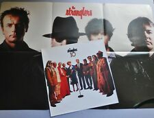 "The Stranglers - 3 x 12"" Singles Grip Sweet Smell + Print Shakin' Like + Poster"