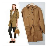 [ COUNTRY ROAD ] Womens Tie waist Parka Jacket | Size XL or AU 16 / US 12