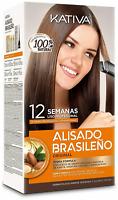 Kativa Brazilian Keratin Argan Oil Treatment Hair Straightening KIT Greater Size