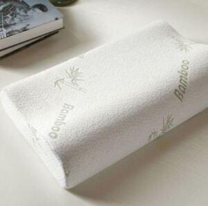 Anti Bacterial Bamboo Memory Foam Contour Pillow Orthopaedic Support