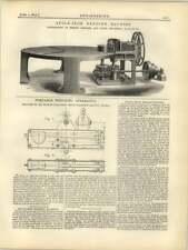 1877 Angle Iron Bending Machine Feilding Platt
