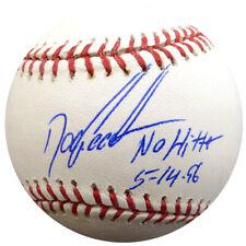 "Dwight Gooden Autographed Mlb Baseball Mets ""No Hitter 5-14-96"" Psa/Dna 28142"