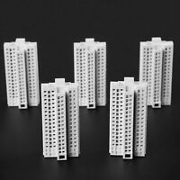 White 23-Story H-72mm Modern Tall Building Office 1:500 DIY Outland Models