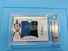 BGS 9/10 2014-15 Panini Excalibur Andrew Wiggins Rookie Rampage Auto Patch 6429