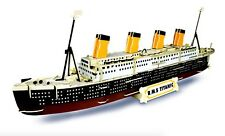 TITANIC Woodcraft Construction Kit - Wooden R.M.S TITANIC SHIP Model 3D Puzzle