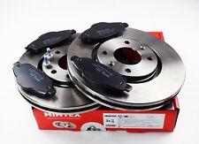 NEW MINTEX FRONT BRAKE DISC AND PADS SET FOR PEUGEOT 308 MDK0233 *FAST DELIVERY*