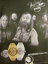 Valient Thorr, Vestal Watches, Full Page Ad