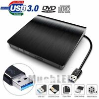 Portable Ultra Slim External USB 3.0 DVD RW CD Writer Drive Burner Reader Player