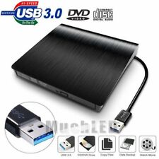 USB 3.0 DVD CD External Slot Drive Burner Reader Player For Laptop PC Windows US